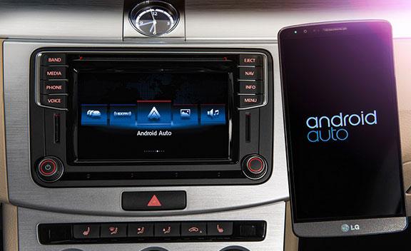 Google Android Auto Integration