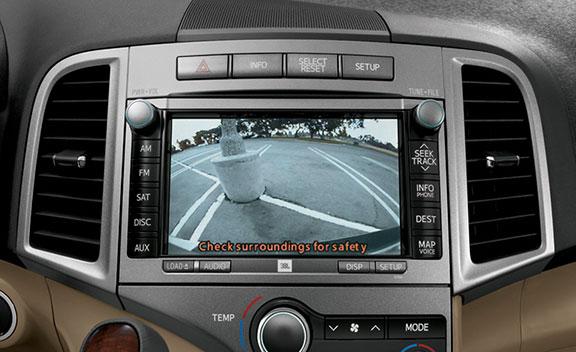 Front & Rear Backup Camera